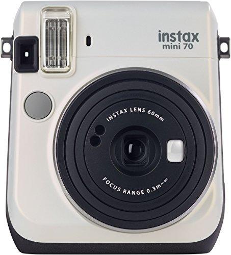 fujifilm instax mini 70 -  cámara instantánea, color blan og