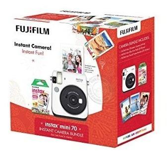 fujifilm instax mini 70 instantánea de una cámara de películ