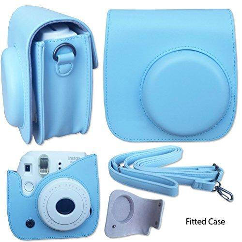 fujifilm instax mini 8 cámara accesorios blue kit para fuji