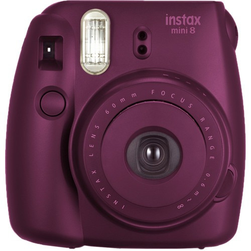 fujifilm instax mini 8. cámara instantánea. nueva. r y m