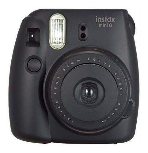 fujifilm instax mini 8 instantánea cámara digital (negro) (f