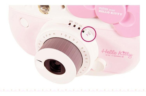 fujifilm instax mini 8 kitty rosa 10 fotos correa stickers