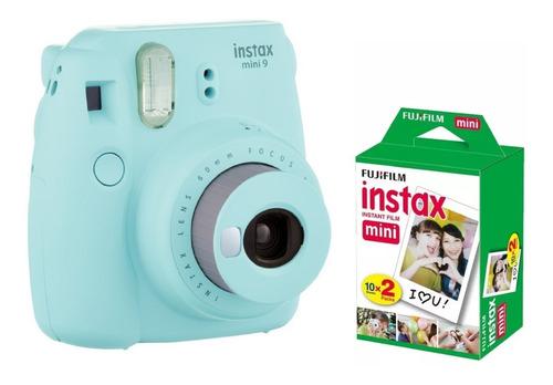 fujifilm instax mini 9 + 20 fotos 7 colores en stock oficial