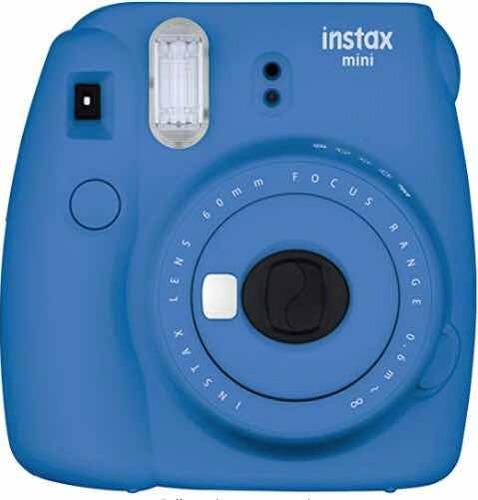 fujifilm instax mini 9 + 60 fotos instantáneas + accesorios