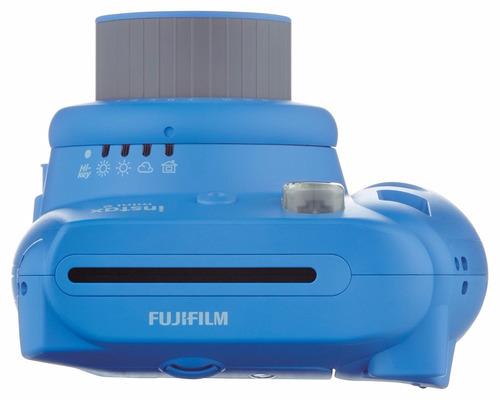fujifilm instax mini 9 azul camara instantánea msi selfie