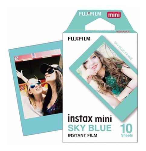 fujifilm instax mini 9 azul cobalto 10 fotos nueva original