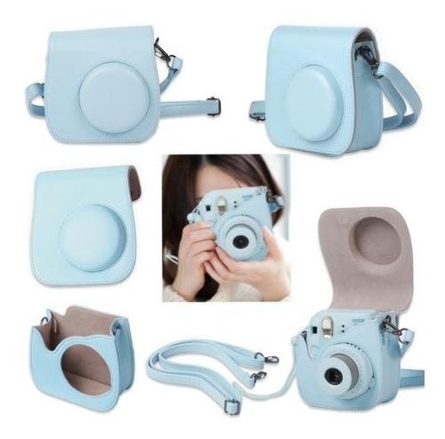 fujifilm instax mini 9 camara instantanea azul hielo w pelic