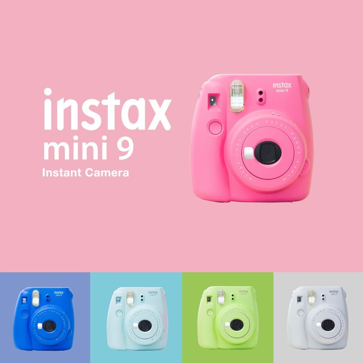 Fujifilm Instax Mini 9 Camara Instantanea Marco Selfie - $ 1,799.00 ...