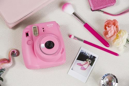 fujifilm instax mini 9 camara instantánea selfie