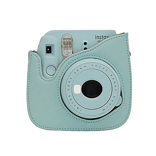 fujifilm instax mini 9 instant camera ice blue + fuji instax