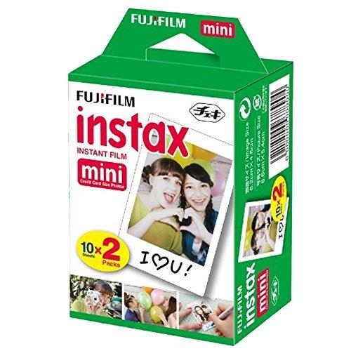 fujifilm instax mini 9 instant film camera (smokey white) +