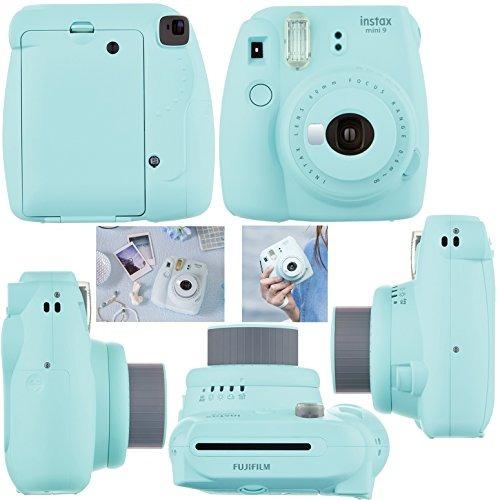 fujifilm instax mini 9 instantáneo cámara ( hielo azul ) +