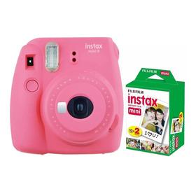 Fujifilm Instax Mini 9 Selfie + 20 Fotos Oficial Colores