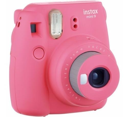fujifilm instax mini 9 selfie + 10 fotos + garantía oficial