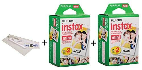 fujifilm instax mini 9film conjunto de 2paquetes de 2unid