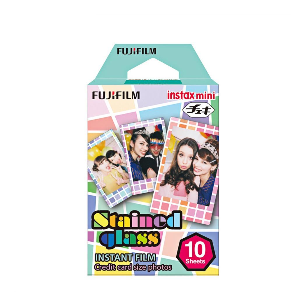 FUJIFILM INSTAX mini Film STAINED GLAS 1 Film  für 10 Fotos