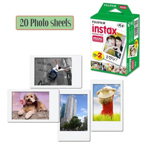 fujifilm instax mini instant film 1 paquete - 20 hojas ...