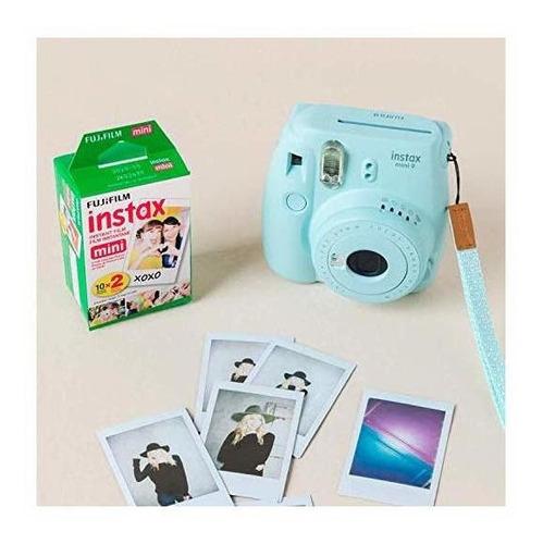 fujifilm instax mini instant film (20 hojas) instax mini + 5