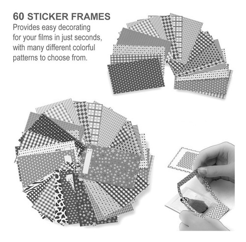 fujifilm instax mini instant film (3 twin packs, 60 total