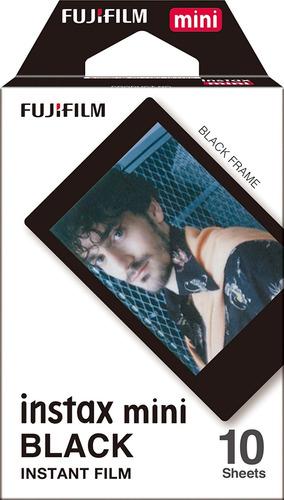 fujifilm instax mini instant film black frame 4-pack bund