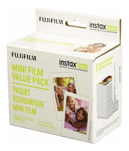 fujifilm instax mini instant film value pack - (3 paquetes