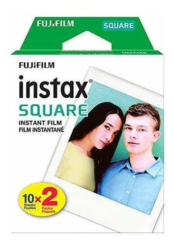 fujifilm instax square instant film - 40 exposiciones - para