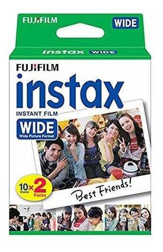 fujifilm instax wide instant film + marcos de fotos de plást