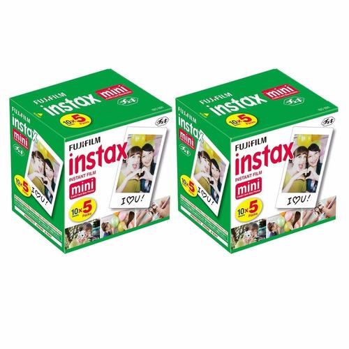 fujifilm papel instax mini8 para camara instantanea 100und