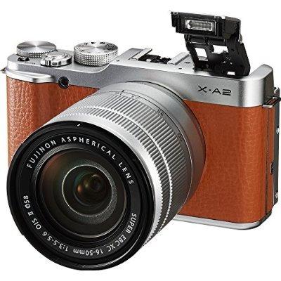 fujifilm x-a2 / xc16-50mmf3.5-5.6 ii marrón mirrorless digit