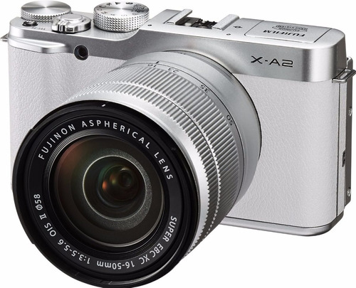 fujifilm x-a2/xc16-50mmf3.5-5.6 ii mirrorless color blanca