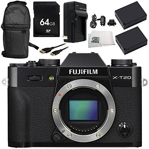 fujifilm x-t20 cámara digital sin espejo (sólo el cuerpo,