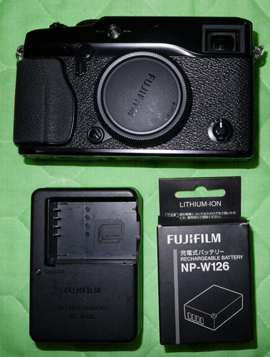 fujifilm xpro1 cuerpo de camara fuji x-pro 1 mirrorless 16mp