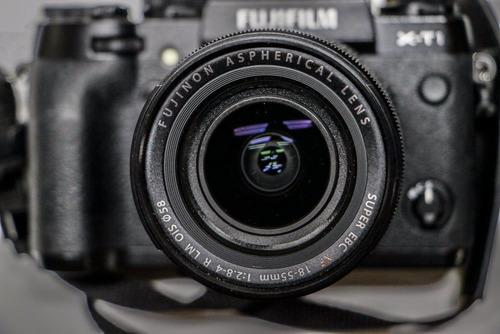 fujifilm xt1 body + lente 18- 55 xf