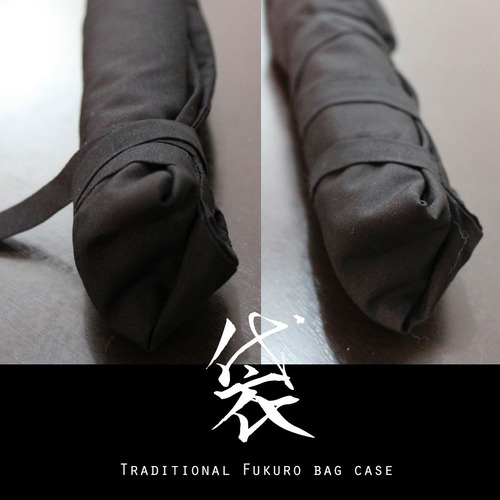 fukuro funda tradicional para flauta o katana