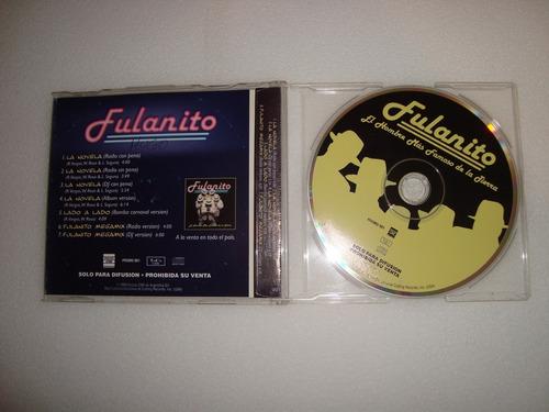 fulanito el hombre+ famoso simple  audio cd en caballito