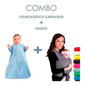 Fular Cargador Bebe + Talego Bebe