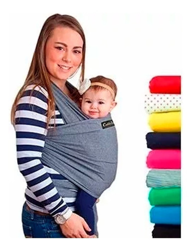 fular cargador bebe + almohada embarazada
