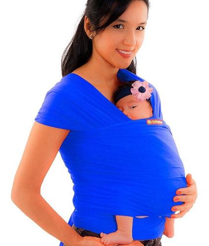 fular cargador elástico babymoon portabebe-bebé