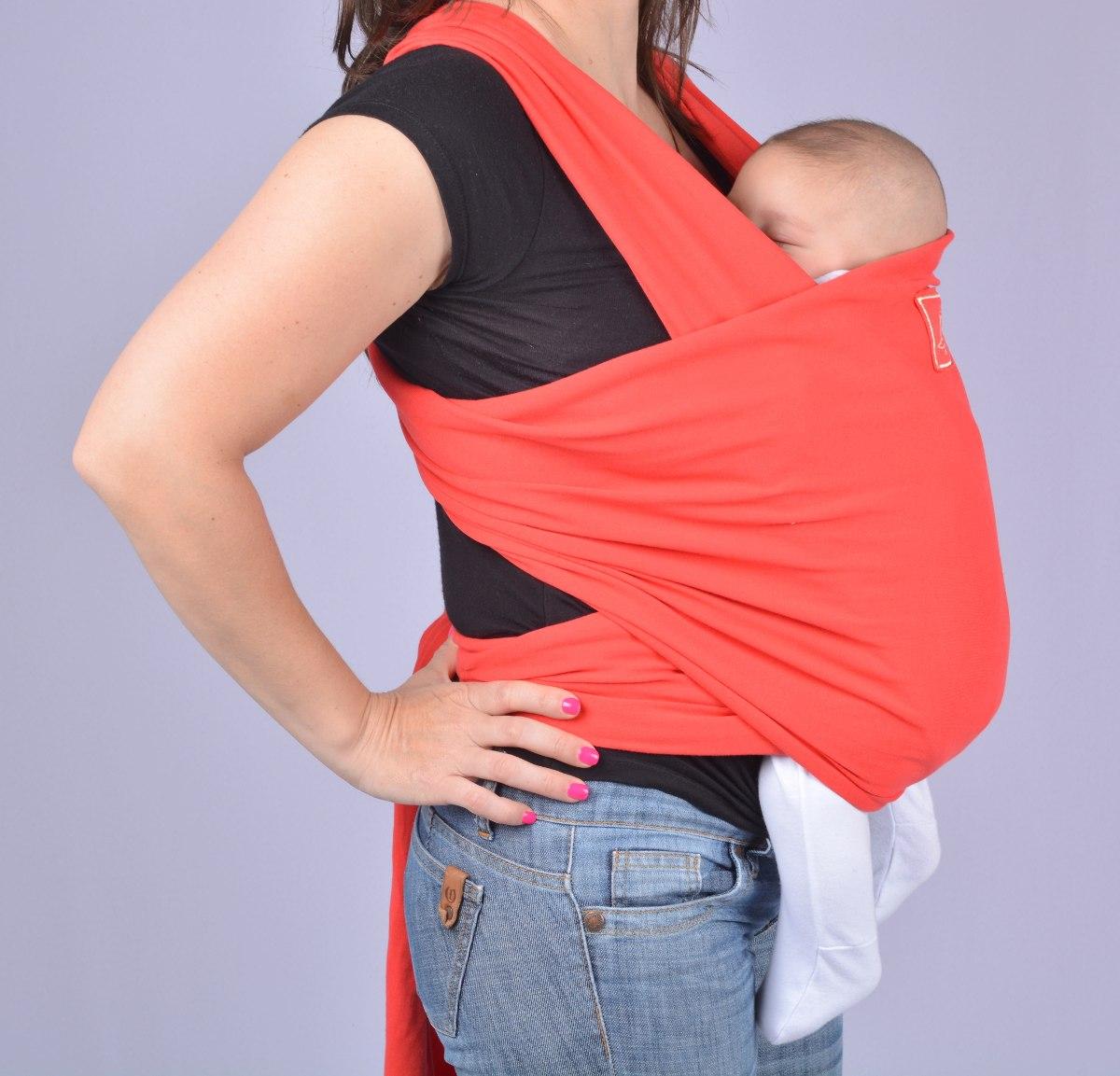 Fular Mochila Portabebé 20kilos Baby Soft Tela Elástica Zsur