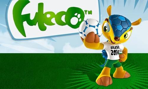 fuleco mascota mundial brasil 2014 para coleccionistas nuevo