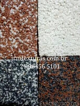 fulget,textura jato de areia,revestimento quartzo,grafiato