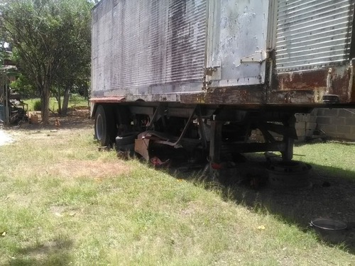 fulgon trailer vatea 2 ejes rin 24