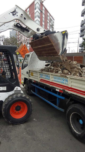 full eliminación de desmonte y recojo malezas y taxi carga