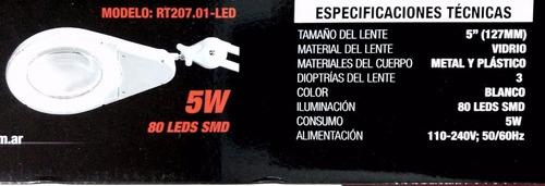 full energy ls1052 lampara lupa led extensible tecnigrafo