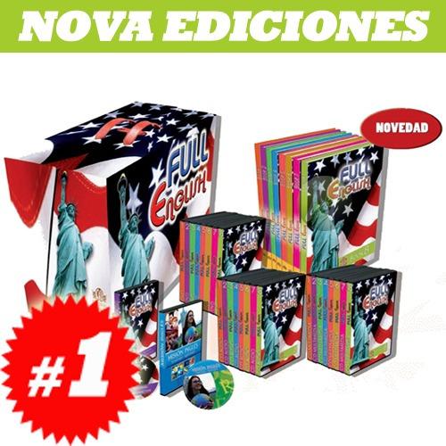 full english 8 vols 8 cd roms 8 dvds