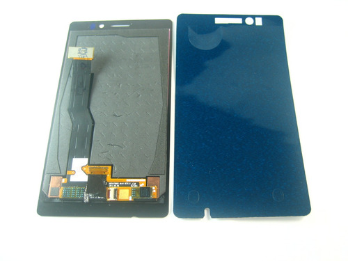 full lcd display screen+touch+glue nokia lumia 925~black