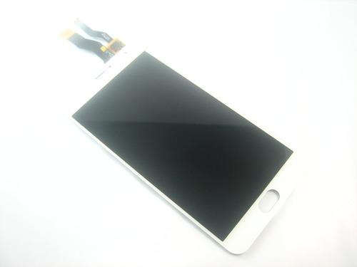 full lcd display screen w/ touch digitizer meizu metal~white