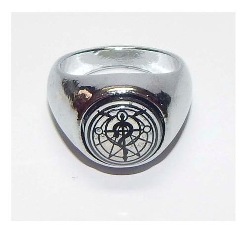 full metal alchemist fma anillo giratorio edward cruz flamel
