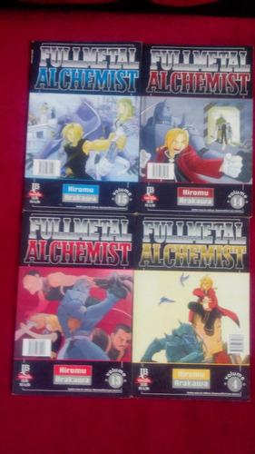 full metal alchemist (lote com 7)