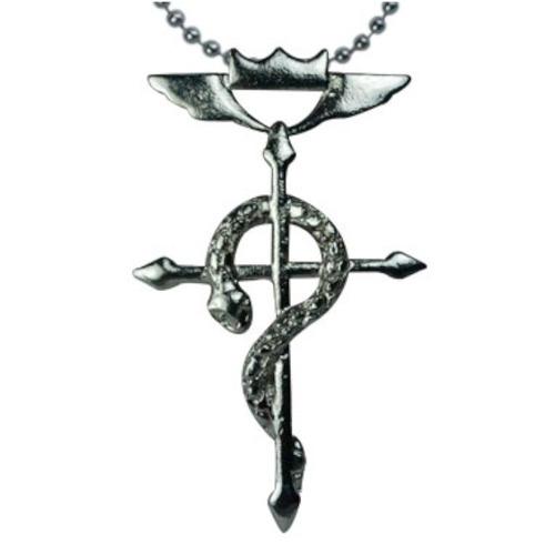 full metal alchesmit fma dije collar cruz